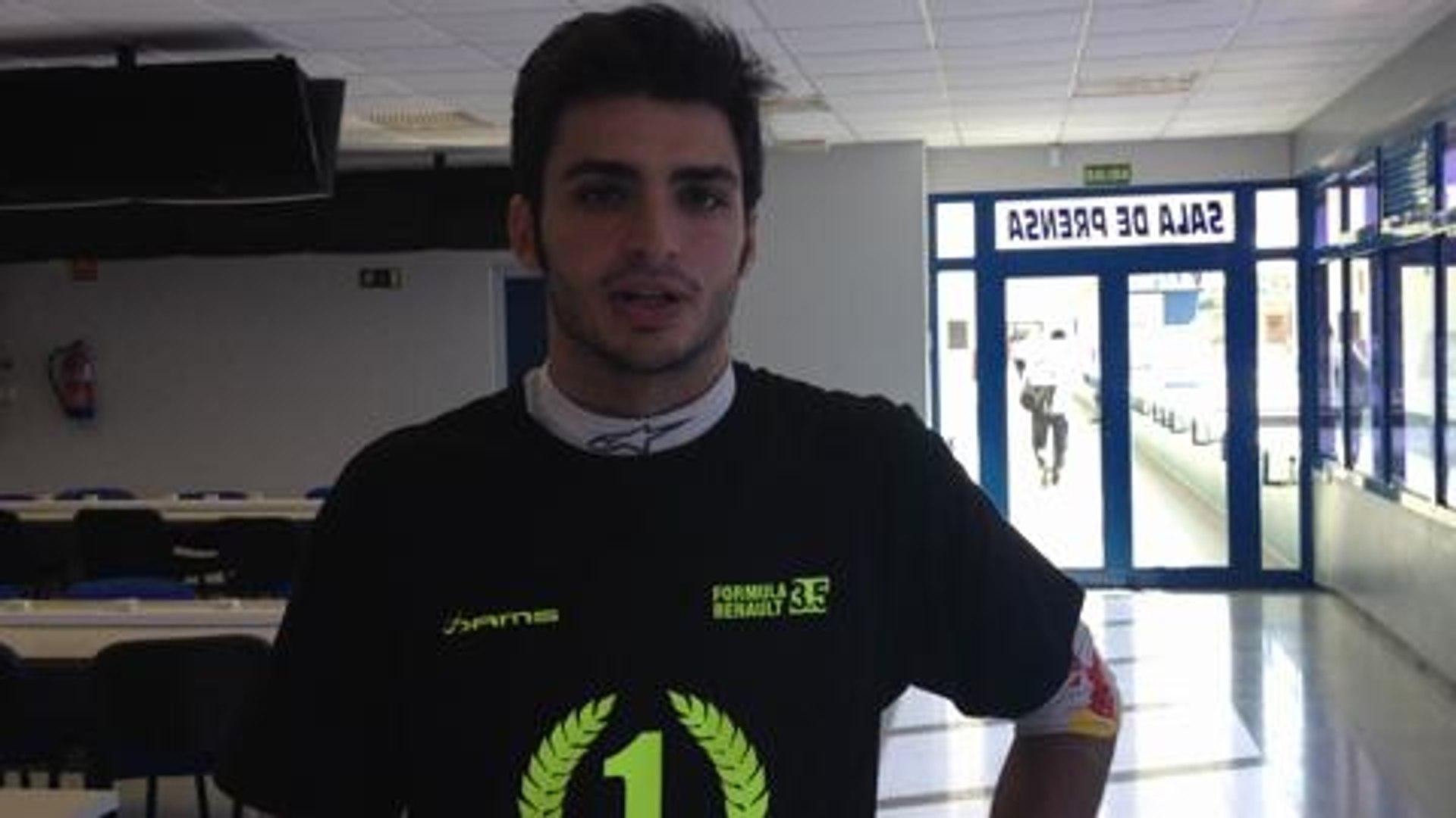 Declaraciones Carlos Sainz Junior Jerez