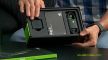 The Unboxing Experience- SHIELD Tablet, SHIELD Wireless Controller and SHIELD Tablet cover