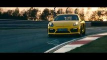 Nuevo Porsche Cayman GT4 en circuito