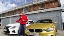 Comparativa - BMW M4 VS LEXUS RC F