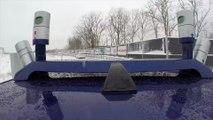 Autonomous Ford Fusion Hybrid Snow Testing