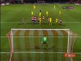 Joey Barton Goal - Brentford 0-2 Burnley - 15.01.2016