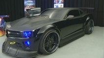 Chevrolet Camaro en la película 'Turbo'
