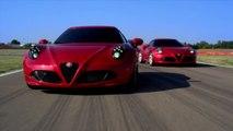 Alfa Romeo 4C en circuito