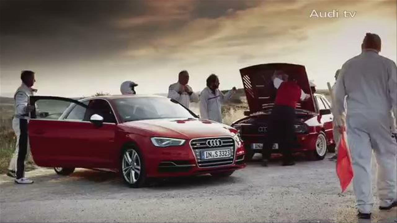 Audi S3 vs Audi Sport quattro