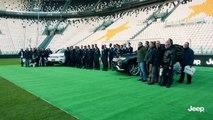 Entrega Jeep a los jugadores de la Juventus