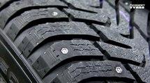 Hakkapeliitta: los neumáticos con clavos retráctiles