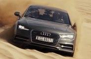 VÍDEO: ¡De locos! Un Audi A7 Sportback en las dunas de Dubai