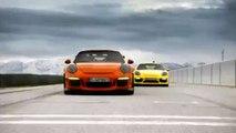Nuevo Porsche 911 GT3 RS contra el Cayman GT4