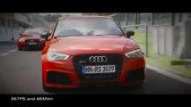 El Audi RS 3 Sportback conquista Roma