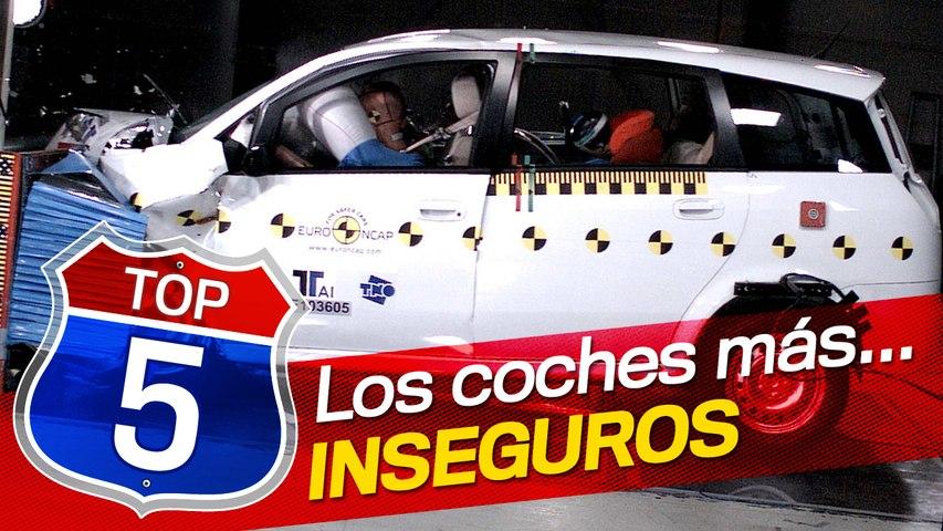 Los cinco coches más inseguros