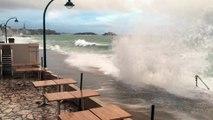 Grande marée à Saint-Malo de Janvier 2016- Kyriad St Malo Plage