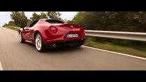 Alfa Romeo 4C Spider en la Costa Smeralda