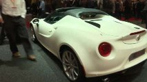 Alfa Romeo 4c Spider Salon de Ginebra 2015