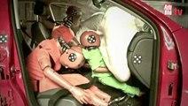 Consecuencias de los airbag y los niños mal colocados