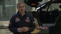 Carlos Sainz nos descubre los secretos del Peugeot 2008 DKR en Peugeot Sport