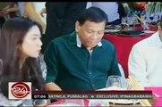 24Oras: Duterte À Roxas, nagbanta ng sampalan inclus sa nom isyu kung Ancien élève de Wharton si Roxas