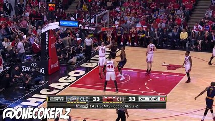 J.R. Smith & Iman Shumpert Full Highlights 2015 Playoffs ECSF G6 at Bulls - 25 POINTS COMBINED!