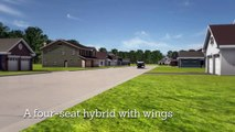 Terrafugia Updates Flying Car Design, Shows Realistic  - Media Sharing Video