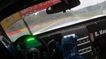 Lamborghini Gallardo onboard footage at Montreal F1 Track raw footage