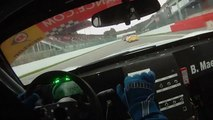 Porsche GT2 onboard footage at Montreal F1 Track raw footage