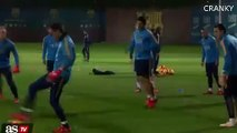 Lionel Messi And Neymar Have Fun In Training Ahead Of Real Madrid Vs Barcelona 21/11/2015