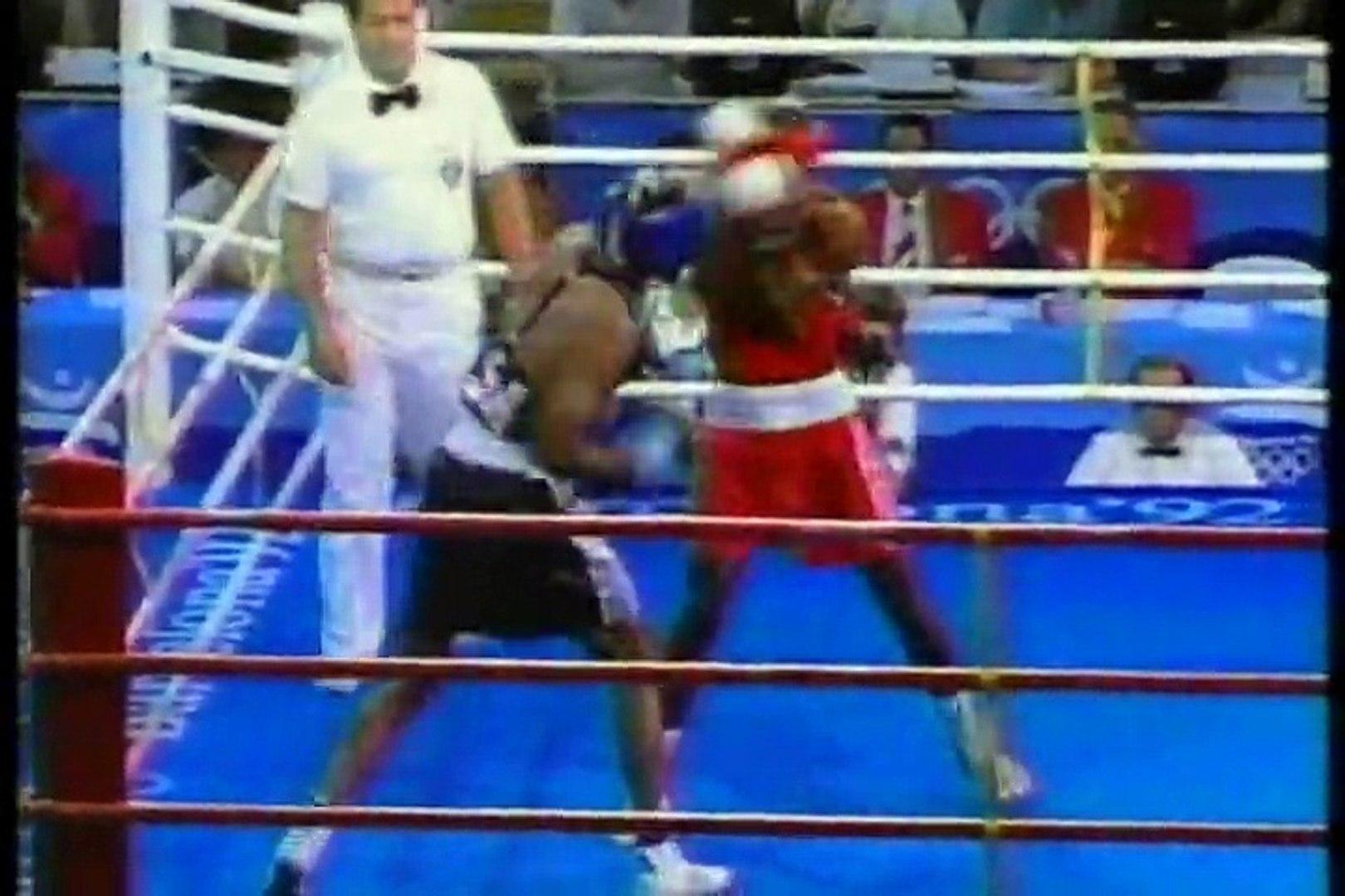 Chris Byrd vs Chris Johnson (1992 Olympics -SF) (06-08-1992)