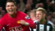 Hat-trick Cristiano Ronaldo against Newcastle