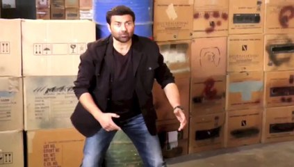 Gayal Once Again Sunny Deol Shooting Video Leaked