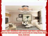 OOFAY LIGHT Minimalist Flush Mount Light with 5 Lights ceiling light Iron Electroplating with