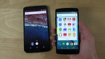 NEW Android M Developer Preview Mega Folders Nexus 6 First Look! (4K)