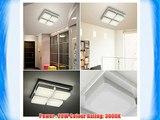 CMYK 20W Bathroom Ceiling Light Fixture - 218*218*60MM - Warm White