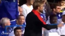 Chelsea Fan Shouting At Jurgen Klopp During Match Chelsea vs Liverpool 31/10/2015