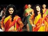 Taapsee Pannu & Sharmila Tagore Walks The Ramp For Designer Gaurang Myukta @ LFW 2015