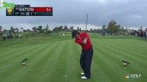 Bubba Watsons Best Golf Swing All Week from 2015 Presidents Cup