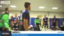 Handball : dans le vestiaire des Bleus lors du match France-Macédoine