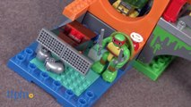 Teenage Mutant Ninja Turtles Half-Shell Heroes Turtle Lair Battle from MEGA Bloks
