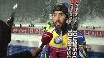 Biathlon - CM - Ruhpolding : Fourcade «Je reste prudent»