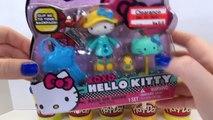 Play Doh Hello Kitty Surprise Eggs Huevos Surpresa and HK Toys Rain or Shine Mini Doll