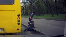 Bus Driver Throws Out Drunk Passenger