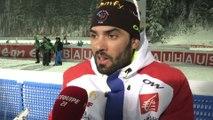 Biathlon - CM (H) - Ruhpolding : Simon Fourcade «Je fais une erreur au couché»