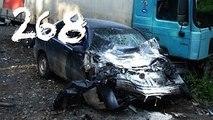 Compilación de Coche de los incidentes y Accidentes en la dashcam #268