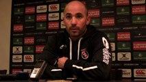 Rugby Champions Cup - Johann Authier réagit après Oyonnax - Toulouse