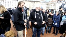 paul watson et Yana Rusinovich Watson à Lyon 16 01 2016 pour la sauvegarde des loups