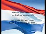 Dutch National Anthem - 'Het Wilhelmus' (NL EN)