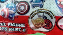 Avengers vs Spider-Man Blind Bag Mascots Toy Review Opening Tomy Toys