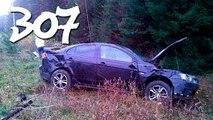 ► Compilación de Coche de los incidentes y Accidentes en la dashcam #307