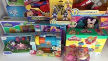 Toy Shopping Haul & Baby Jacob Peppa Pig Doc Mcstuffins + Many More Toys