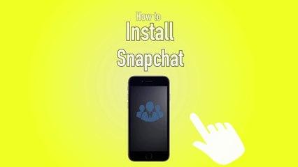 Snapchat How to Install - Snapchat Tip #1