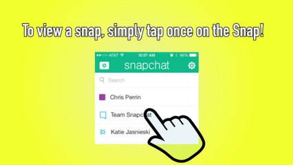 Snapchat How to View  - Snapchat Tip #5
